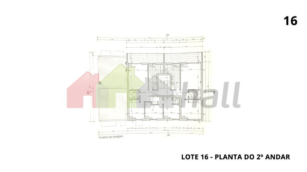 Lote 16 - Planta do 2º Andar