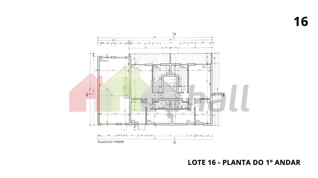 Lote 16 - Planta do 1º Andar