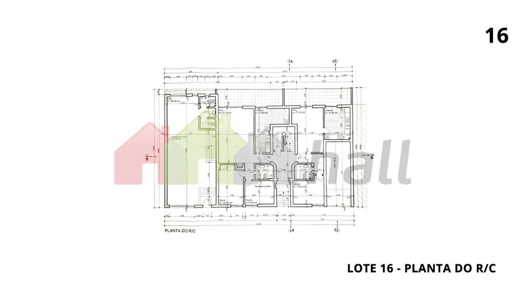 Lote 16 - Planta do R/C