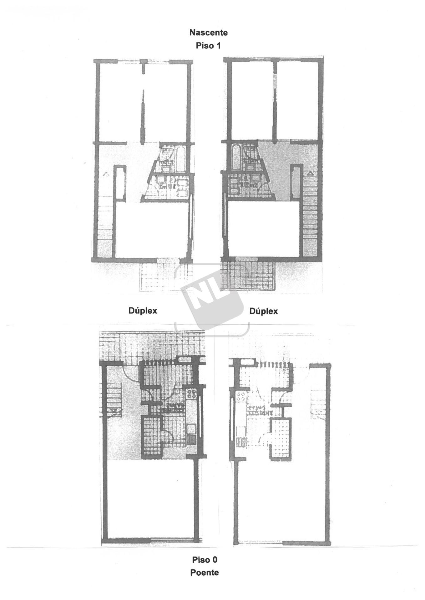 NL2469 Planta Duplex Originais
