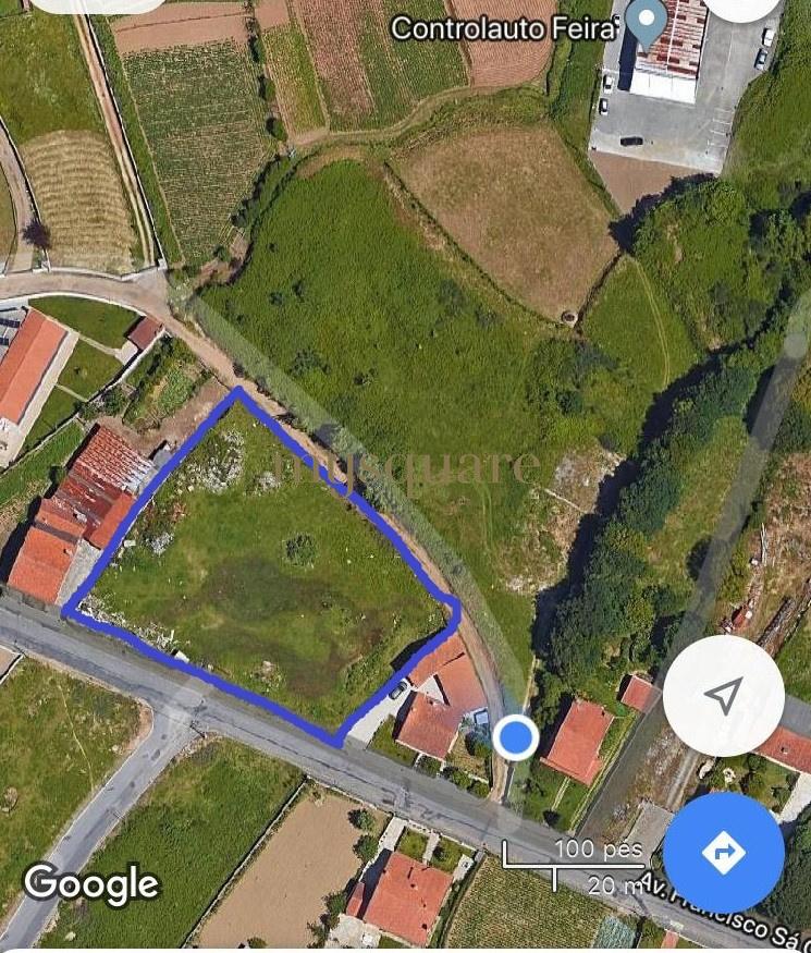 Terreno Urbano - Excelente Localização - Santa Maria da Feira
