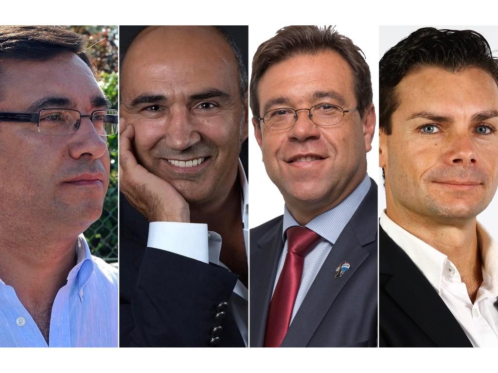 Manuel Ferreira, Miguel Portela, Luís Fernandes e Ricardo Marcos